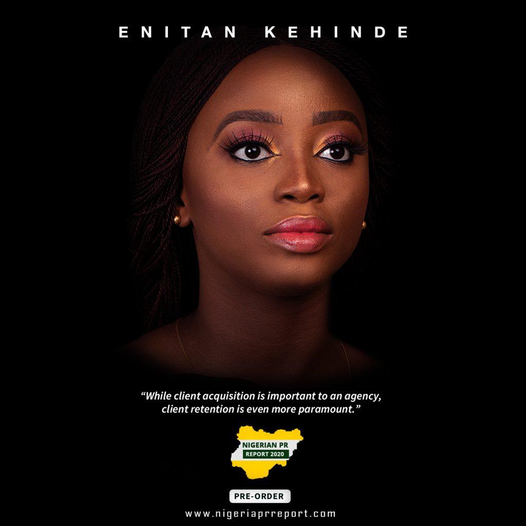 Enitan Kehinde Nigerian PR Report 2020