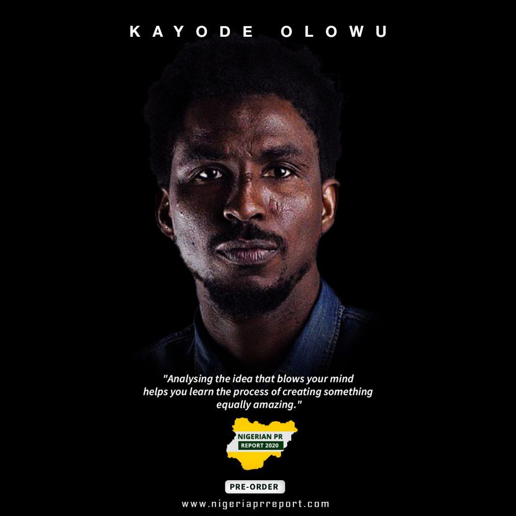 Kayode Olowu Nigerian PR Report 2020