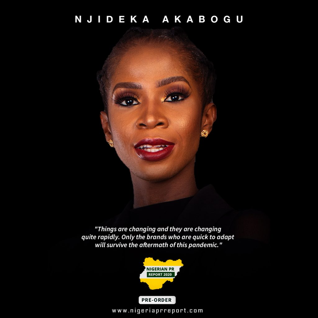 Njideka Akabogu Nigerian PR Report 2020